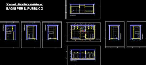 public restroom toilets dwg plan  autocad designs cad