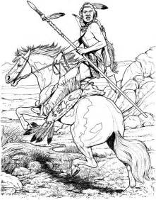 Native american horse coloring pages memes