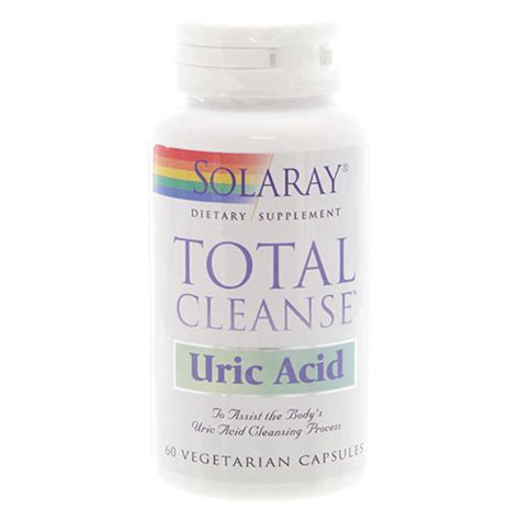 Uric Acid Detox by Total Cleanse Uric Acid Solaray