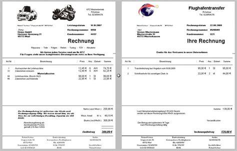 Musterrechnung Bauleistungen 13b Rechnungsprogramm Kleinunternehmer 167 19 Ustg Freeware De
