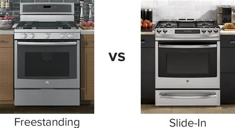 pros and cons of slide in ranges versus cooktop and oven designer appliances