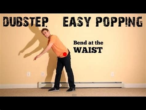 tutorial dance popping basic choreography tutorial dubstep music popping dance
