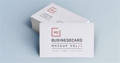 Business Card Showcase Template psd business card mock up vol11 psd mock up templates