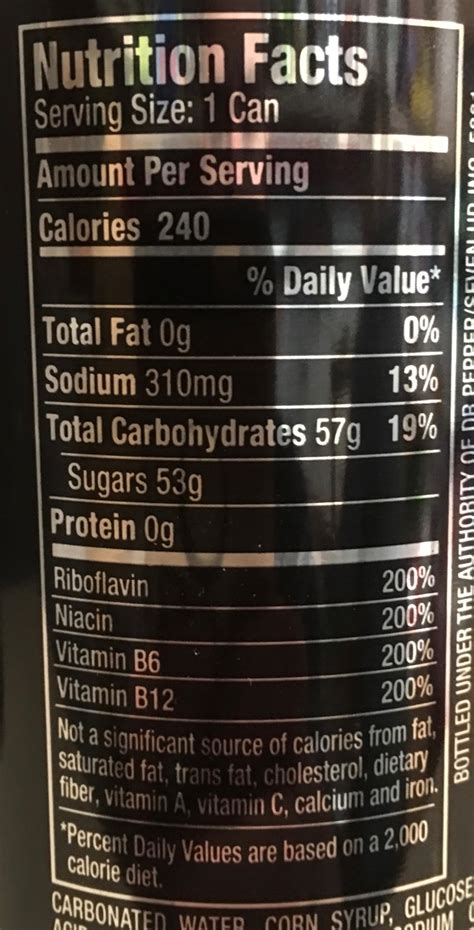 energy drink facts energy nutrition label primus green energy