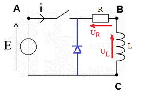 freewheeling diode zener circuit rl forum physique chimie terminale physique 269395 269395