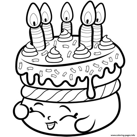 shopkins coloring pages lipstick print cake wishes shopkins season 1 from coloring pages