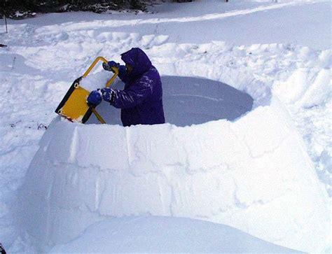 winter home is an igloo kearney sled races