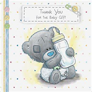 Thank You Card Baby Gift - me to you tatty teddy baby gift thank you cards pack of 10 amazon co uk office