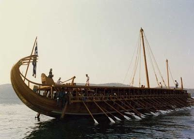 v ling: yacht progress trireme