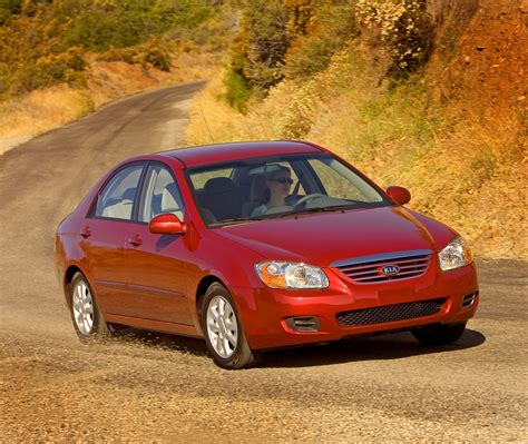07 Kia Spectra 2007 Kia Spectra Technical Specifications And Data Engine