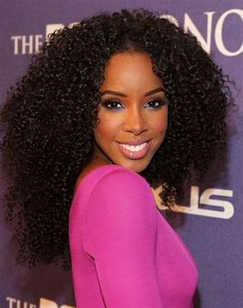 crochet celebrity hairstyles small curls and long crochet braids for black women