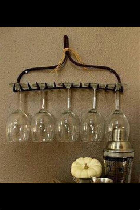 diy wine glass rack uncorking creativity pinterest