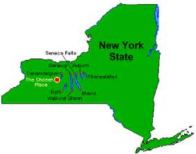 Finger Lakes New York Map by Babbles Of A Boy The Americas