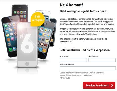 wann kommt iphone 6 raus 2014 iphone 6 base k 252 ndigt nr 6 kommt an macerkopf