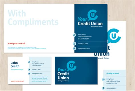 Credit Union Website Template Branding Identity Design Marketing Materials Your