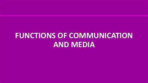 Mba In Communication And Media by Media And Information Literacy Mil 2 The Evolution Of