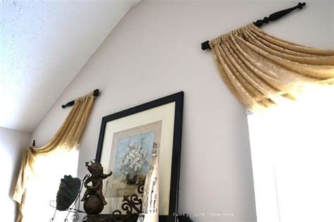 Unique Window Curtains Decorating Curtain Rod Ideas Decor Ideas Unique Window Treatment Curtain Rod Spindles Diy Or At