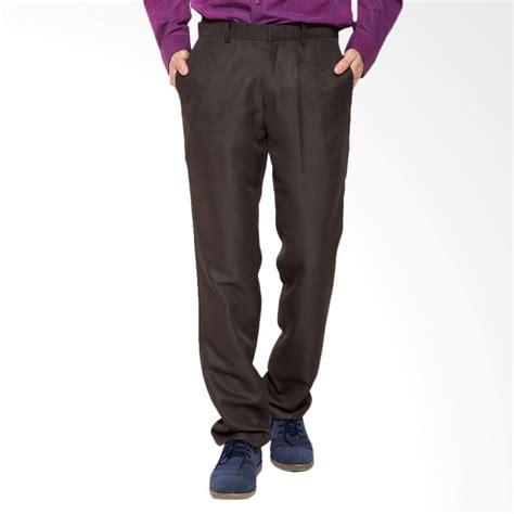 Celana Katun Formal By Passoshop jual traffic slim celana panjang formal pria cokelat