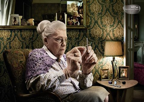 older women sew in 13 surreal photo manipulations by european artists scene360