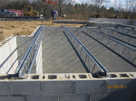 energy efficient building network open web joists for