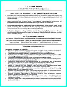 Construction Resume Exles by Simple Construction Superintendent Resume Exle To Get Applied
