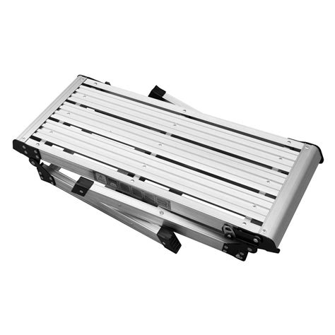 aluminum folding work bench hd en131 folding aluminum platform drywall work bench