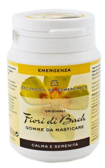 fiori di bach concentrazione gomme da masticare fiori di bach emergenza