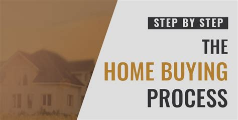 house buying process step by step the house buying process step by step with flowchart kym booke realtor
