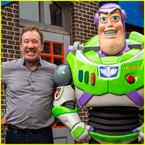 the voice of buzz lightyear had a 'toy story' reunion at