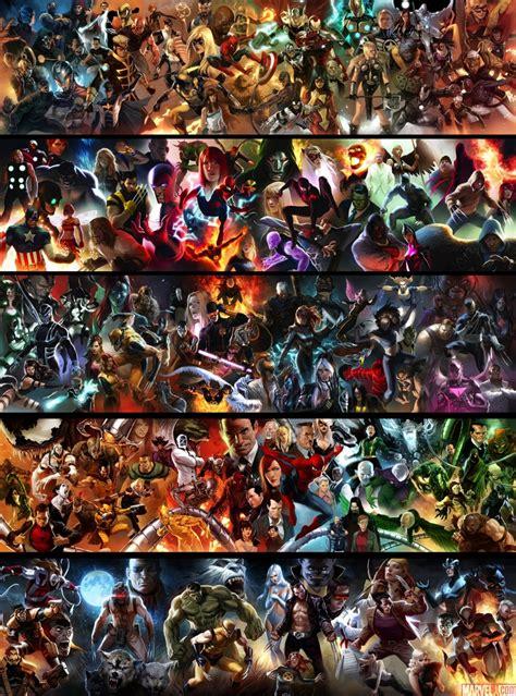 marvel universe marvel posters by marko djurdjevic comic