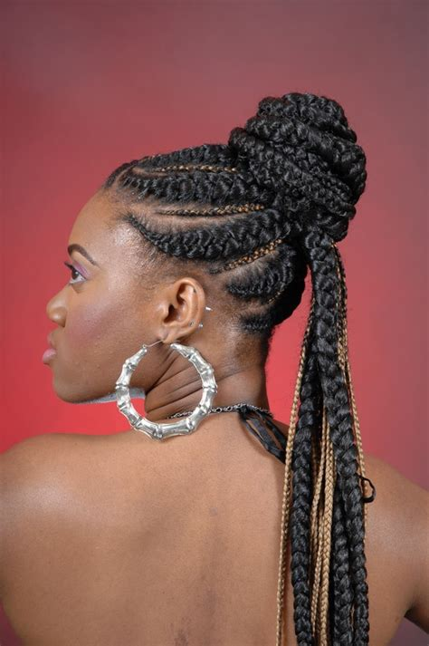 african braids updos 52 african hair braiding styles and images beautified