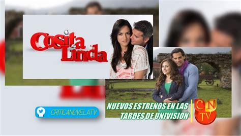2016 en novelas de univision univision estrena dos nuevas telenovelas cntv