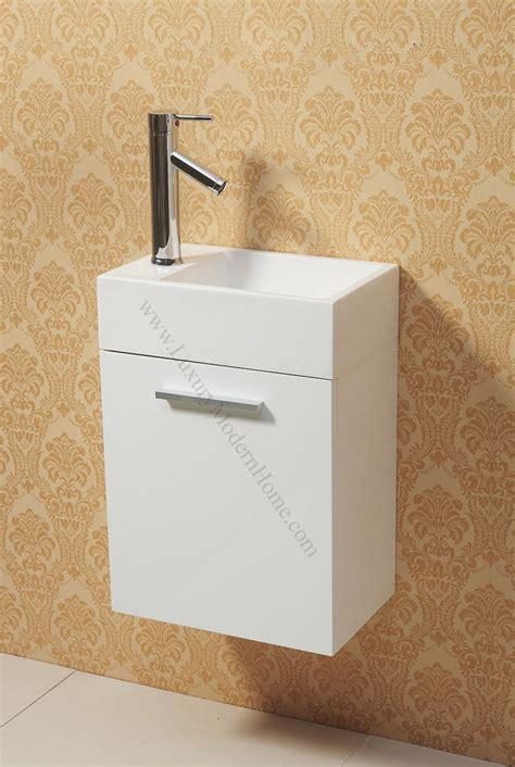 short narrow bathroom cabinet vanity 16 quot small narrow short white modern bathroom