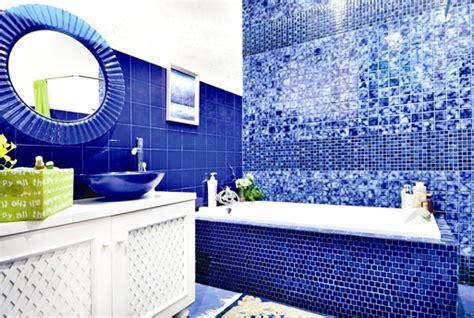 desain dapur nuansa biru desain kamar mandi nuansa biru rumah dan desain