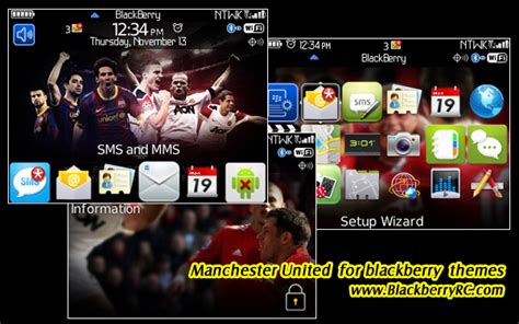 themes blackberry manchester united manchester united for 85xx 9300 themes free blackberry