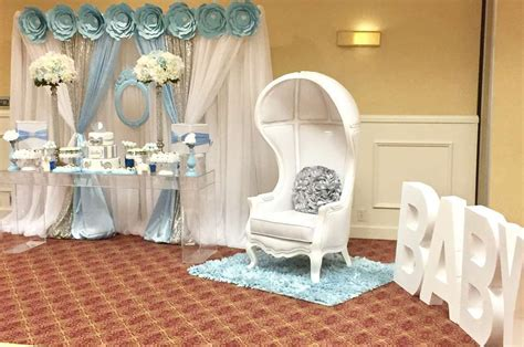 boy baby shower elephant theme party decor pinterest blue and white elephant themed baby shower giant letters