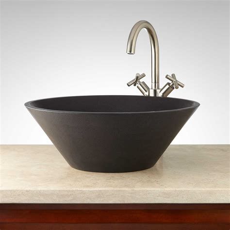 stone vessel bathroom sink stone vessel sink signaturehardware com