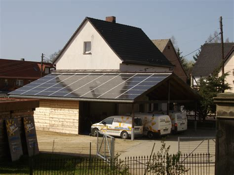 carport firma photovoltaikanlage auf carport firma m 252 hlbach in