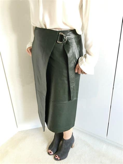 m and s leather skirt redskirtz