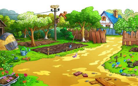 wallpaper cartoon landscape cartoon landscape backgrounds hdwallie hd wallpapers