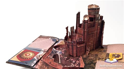 Large Popup Book Series of thrones pop up book by matthew reinhart best pop