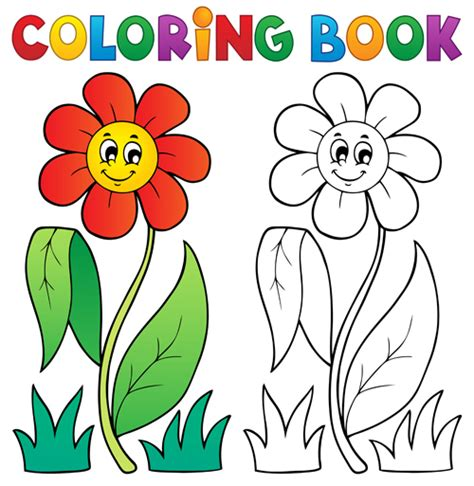 Coloring Book Vector Set 03 Vector Other Free Download Coloring Book