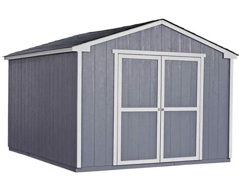handy home products cumberland  wood storage shed kit