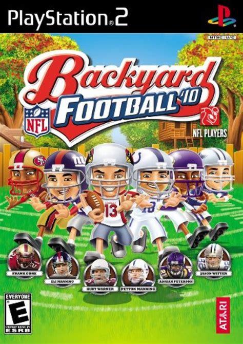 backyard football teams co optimus backyard football 2010 playstation 2 co op
