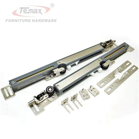 Hanging Closet Door Hardware Cabinet Closet Sliding Door System Hardware Set Der Buffer Hanging Wheels Ebay