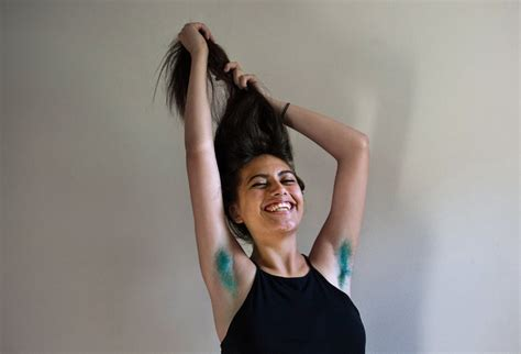 women are dyeing their armpit hair tons of fun colors women who dye their armpit hair the new york times