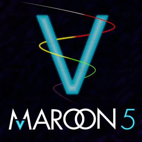 maroon v album maroon 5 album cover by galmog