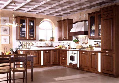 modern house solid wood kitchen cabinet