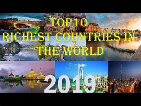 top 10 richest countries in the world 2019
