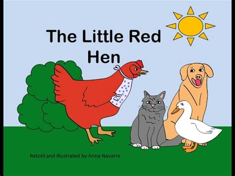 the little red hen 1861476531 the little red hen story youtube